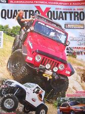 Quattro X Quattro n°15 2011 - Jeep Wrangler TJ - Suzuki Samurai  [P42]