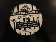 """Menthol Man - Red Headed Mama EP (Jail House JAIL 4 12"""", EP) VG cond."""