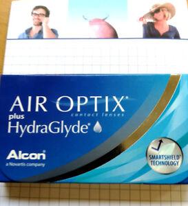 Air Optix plus HydraGlyde 2mal 6er