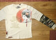 De Puta Madre T shirt long sleeves prison style Yakuza vs Mafia Size S