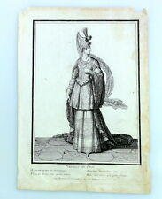 Kupferstich H. BONNART: PRINCESSE DE PERSE um 1700 engraving gravure, Persien