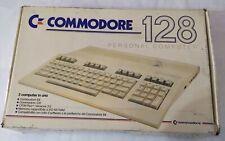Commodore 128 con alimentatore e scatola originale