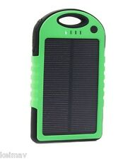 20800mAh Solar LED Powerbank (Green)