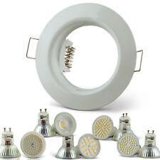 Einbaustrahler GU10 / MR16 Rahmen Schwenkbar Einbaurahmen Einbauleuchte LED