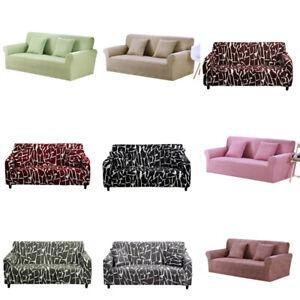 1/2/3/4 Seater Elastic Sofa Cover Non-slip All-inclusive Couch Slipcovers Decor
