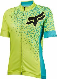 Fox Racing Women's Switchback Comp s/s Jersey Flo Yellow