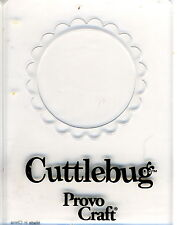 Cuttlebug Petit Embossing Folder-circulaire Frame (G)
