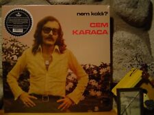 CEM KARACA Nem Kaldi? LP/1975 Turkey/Turkish Rock/Erkin Koray/Baris Manco/Ersen