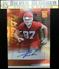 2013 Travis Kelce Rookies & Stars RC Auto! KANSAS CITY CHIEFS!