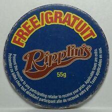 Pog / Milk Cap * PROMO * Free Ripplin's