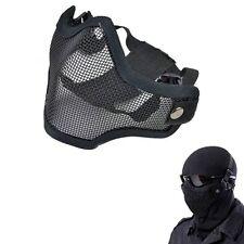 Protective Strike Metal Mesh SKULL Mask Half Face Tactical Airsoft Military Mask