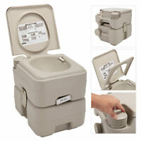 Portable Toilet  20L 5 Gallon Flush Travel Camping Outdoor/Indoor Commode Potty