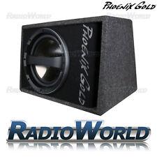 """Phoenix Gold Z110AB 10"""" Active Sub Subwoofer Amp Amplifier Bass Box Enclosure"""