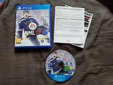 NHL 17 Sony Playstation 4 Game PS4