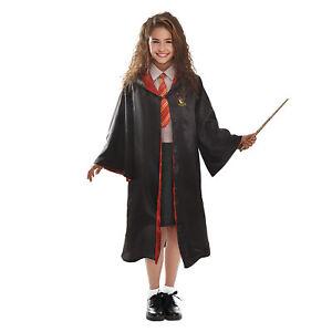 Costume Hermione Granger Serie Harry Potter Prodotto Originale Bambina