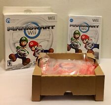 Mario Kart Wii Complete with Wii Wheel and Original Box Game Sealed