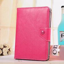 Red Rose Black Cyan Leather Case Cover For Barnes Noble Nook Tablet/ Nook Color