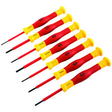 CK Tools T4897 -7 pezzi Micro Precisione Cacciavite VDE Set VDE1000V SLOT & PH