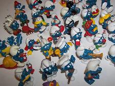 Vintage 1970's 1980's Smurf PVC Lot of 39! PVC Figures - Schleich - Peyo