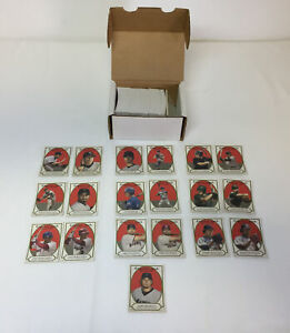 2005 Cracker Jack baseball mini red ~ FULL SET #1-240 with all SP and variants