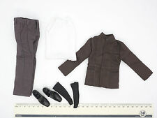 XE72-03 1/6 Scale HOT Male Full Suit Set ( Jacket & Pants & Shirt & Shoes ) TOYS
