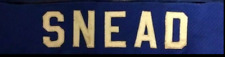 Norm Snead New York Giants Name Plate 1973
