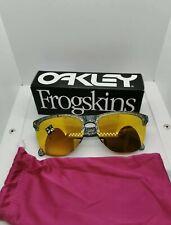 Oakley Frogskins Lite Metallic Splatter 24k Iridium.