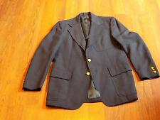 Vintage Mens Morton Collection 3-Button Sport Coat - Navy Blue size 38/40R?