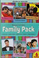 Mexicanas Inolvidables FAMILY PACK|DVD|6 PELICULAS|2 DISCOS|LA MUGROSITA NEW