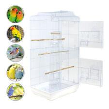 "37"" Bird Parrot Cage Canary Parakeet Cockatiel LoveBird Finch Bird Cage White"