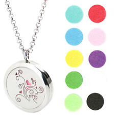 Flower  Premium Aromatherapy Essential Oil Diffuser Locket Necklace Pendant