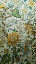 TRAVERS by Zimmer Rohde Linen Fabric Cloth Remnant sample 25 1/2x39 in. approx.