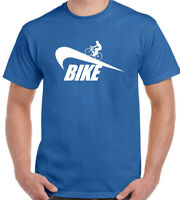 Cycling T-Shirt Mens Funny Bike Cyclists Mountain Road MTB Bicycle Parody