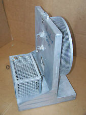 Vintage Gerbil Hamster Rat Exercise Wheel Cage Experiment School Steampunk Lab
