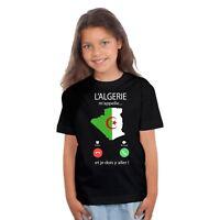 T-shirt ENFANT FILLE L'ALGERIE M'APPELLE...