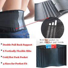 Lumbar Back Support Brace Belt for backache Spinal Pain Relief Waist Trimmer