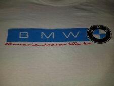 BMW VINTAGE 1982 TEE SHIRT LARGE BAVARIAN MOTOR WORKS 80S RARE SPORTS CAR