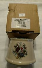 Candle Shade for Mini Spoon Jar Floral Design Home and Garden Party LTD NOS