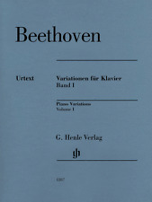 Henle Urtext Beethoven Piano Variations, Volume 1 - Revised Edition