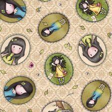 Gorjuss Birds of a Feather - Natural Girl Cameos – Beige by Santoro of London