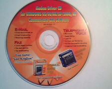 CD Modem Driver CD Communicate Lite Systems Windows 95/98/ME/XP/2000 NT 56K