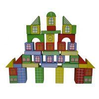 DIY Kids™ Fantasy City Large Blocks Set (45 pcs)