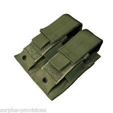 Condor MA23 Double Pistol Mag Pouch O.D. Green Tactical Molle