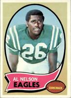 1970 Topps #141 Al Nelson RC - EX