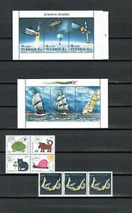 SWEDEN EUROPE  COLLECTION  MNG STAMPS  LOT (SWED 765)