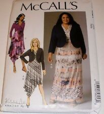 McCall's 7367 Misses' / Women's Shrug and Dresses Sewing Pattern 8-16 or 18W-24W