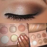6 Colors Renaissance Eye Shadow Make Up Shimmer Matte Eyeshadow Palette Gift
