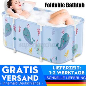 120cm PVC Faltbare Badewanne Tragbar Mobil Bathtub Erwachsene Baby Bad Wanne