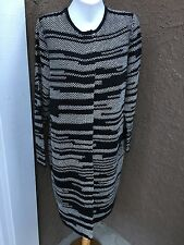 Chico's Black Label Textured Sweater Coat Jacket 2 L 3 XL See More