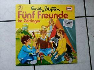 Fünf  Freunde -Hörspiel LP   von Europa   Folge 2